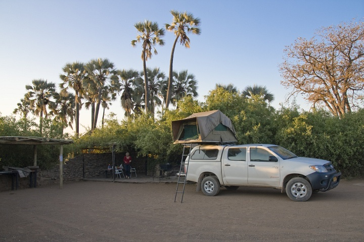 Campsite No. 4 in Palmwag